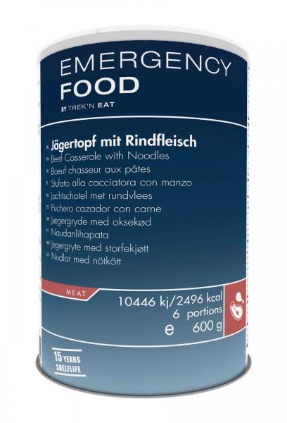 Emergency Food Jägertopf mit Rindfleisch und Nudeln