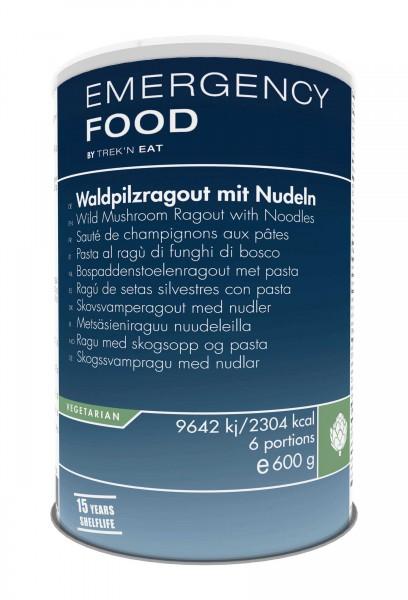 Emergency Food Waldpilzragout mit Nudeln