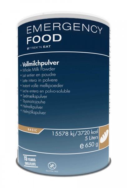 Emergency Food Vollmilchpulver