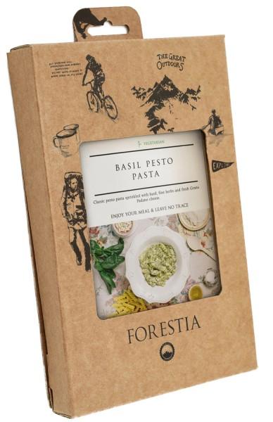 Forestia Nudeln mit Basilikumpesto-SH vegetarisch Outdoornahrung Trekking
