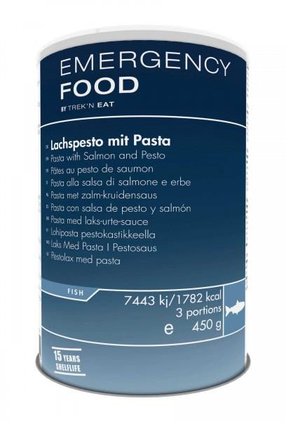 Emergency Food Lachspesto mit Pasta