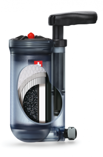 Katadyn Hiker Pro Filter Transparent Wasserfilter Trinkwasser