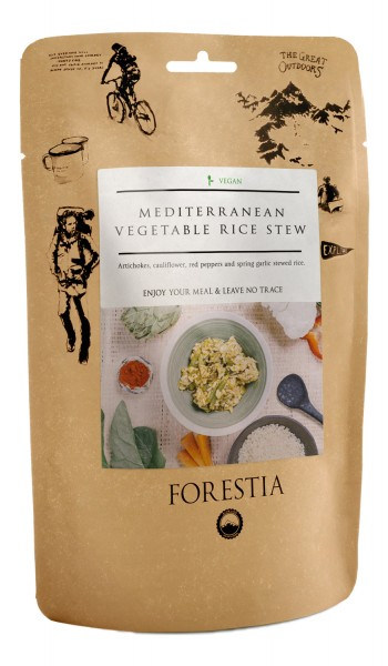 Forestia Mediterraner Reistopf vegetarisch