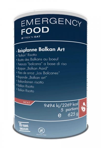 """Emergency Food Reispfanne """"Balkan Art"""""""