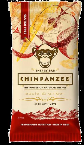 Chimpanzee Energy Bar Apple & Ginger 55g