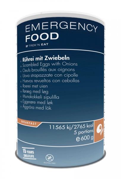 Emergency Food Rührei mit Zwiebeln