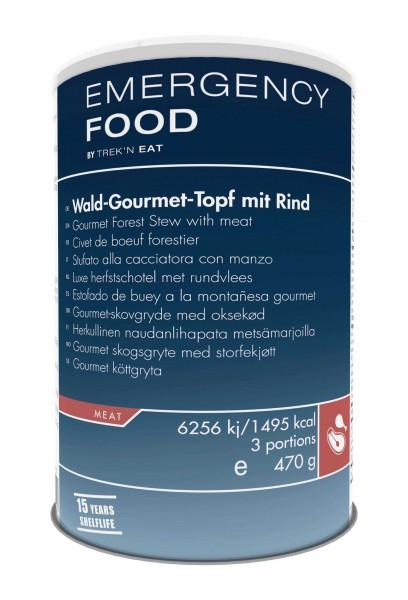 Emergency Food Wald-Gourmet-Topf mit Rind