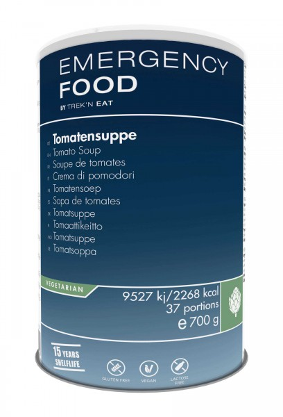 Emergency Food Tomatensuppe