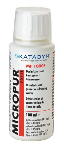Micropur Forte MF 1'000F 100ml Wasserentkeimung Trinkwasser