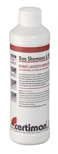 Certiman Duo Shampoo & Wax Konzentrat 500ml Reiniger Pflege