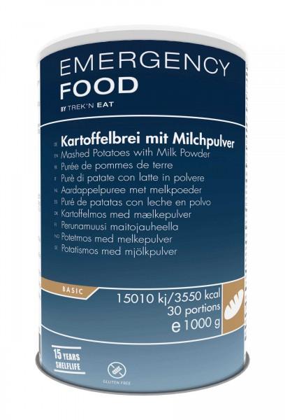Emergency Food Kartoffelbrei mit Milchpulver
