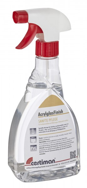 Certiman AcrylglasFinish 500ml Reiniger Pflege