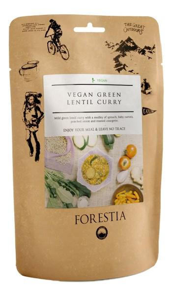 Forestia Veganes Curry mit grünen Linsen vegetarisch Outdoornahrung Trekking