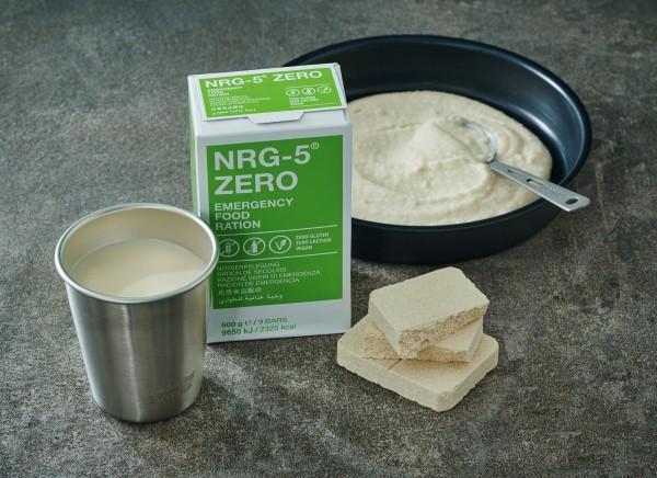 NRG-5 ZERO Notration Notverpflegung glutenfrei vegan