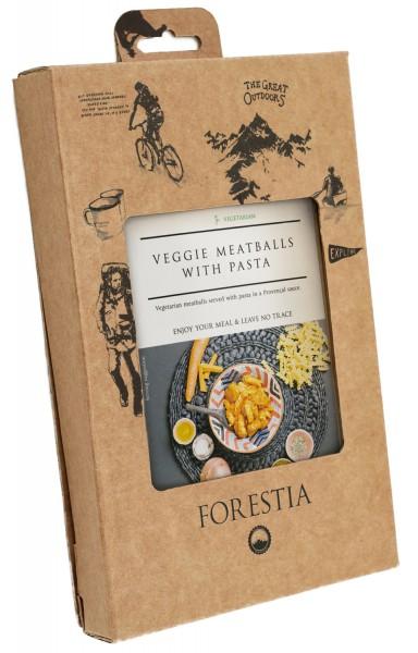 Forestia Gemüsebällchen mit Nudeln-SH vegetarisch Outdoornahrung Trekking