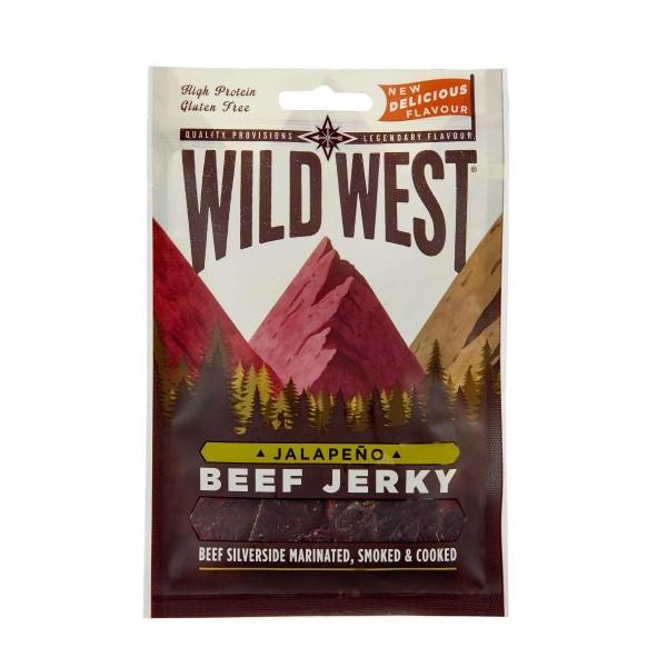 Wild West Beef Jerky Jalapeno 70g