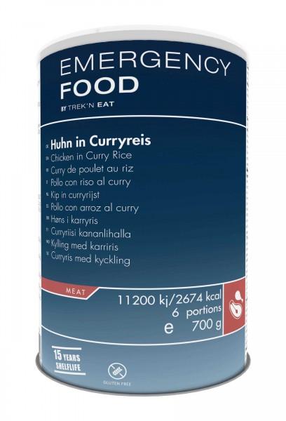 Emergency Food Huhn in Curryreis