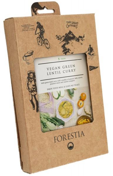 Forestia Veganes Curry mit grünen Linsen-SH Outdoornahrung Trekking