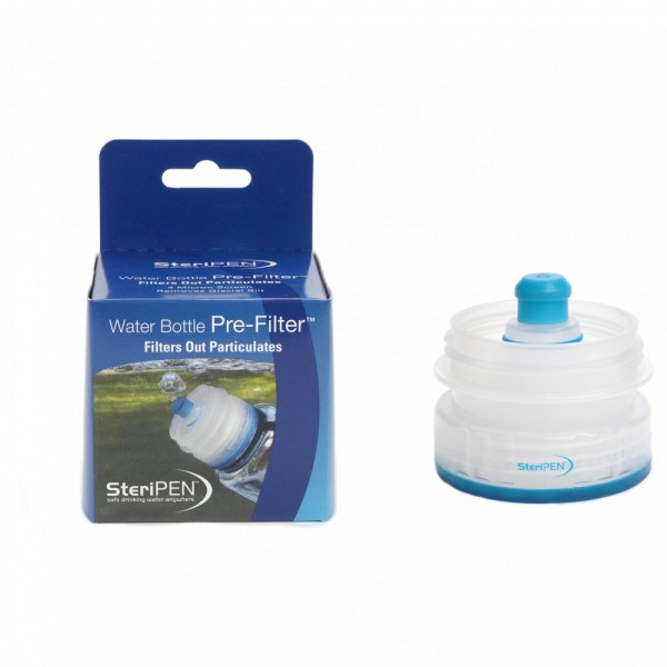 Steripen Vorfilter 40 Mikron Grobwasserfilter für Weithalsflaschen Wasseraufbereitung