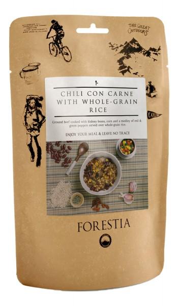 Forestia Chili Con Carne mit Vollkornreis Outdoornahrung Trekking