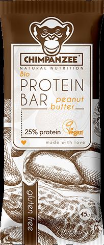 Chimpanzee BIO Protein Riegel Erdnussbutter 45g