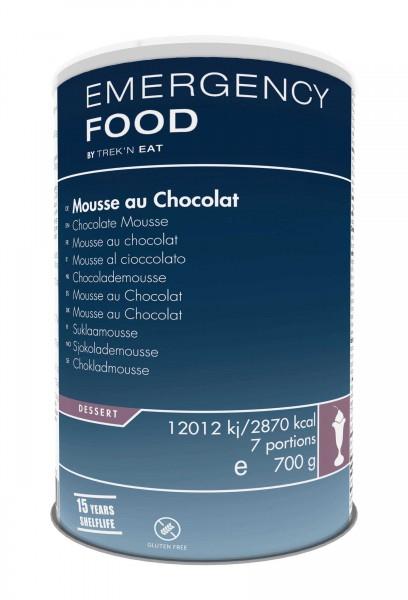Emergency Food Mousse au Chocolat